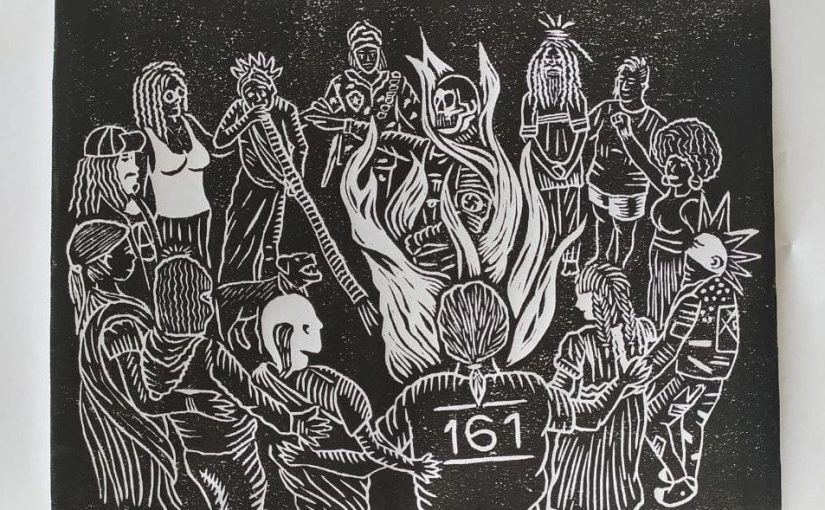 Gravura contra oneofascismo